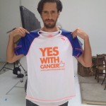 Juan Diego Botto con YES WITH CANCER