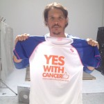 Sergio Peris con YES WITH CANCER