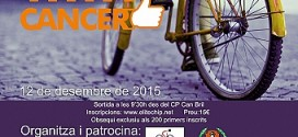 MARCHA CICLOTURISTA SENCELLES 12/12/2015 YES WITH CANCER